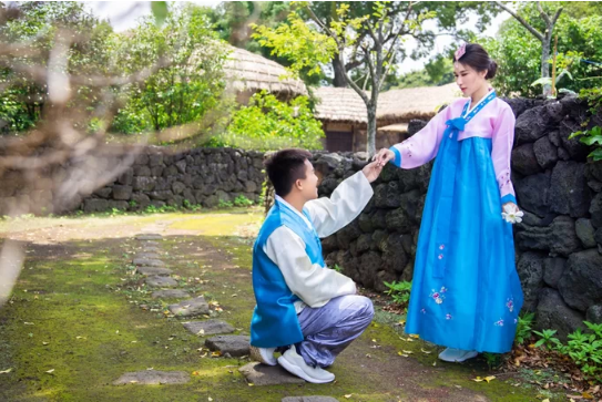 Ảnh cưới ở Hàn Quốc