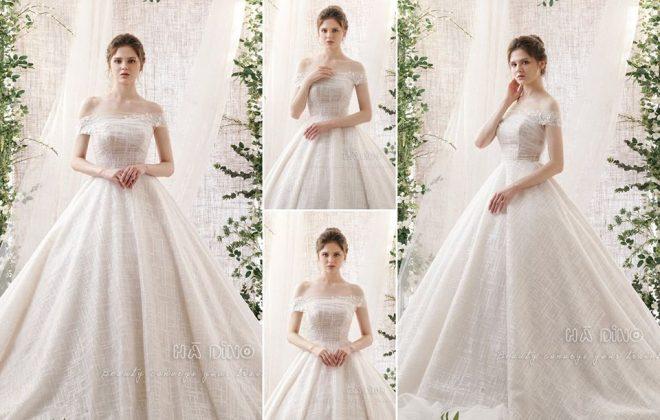 Đó là lý do bạn nên nắm được những bí quyết chọn váy cưới phù hợp với từng vóc dáng! Hà Dino sẽ bật mí mẹo hay về cách chọn váy cưới che khuyết điểm