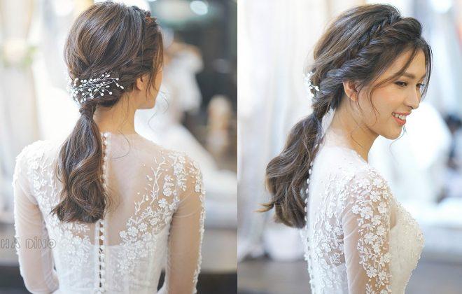 Đem đến cảm giác thoải mái mà vẫn cực kì quyến rũ cho cô dâu. Ngay bây giờ, hãy cùng Hà Dino điểm qua những kiểu tóc tuyệt đẹp cho cô dâu mùa hè nhé!